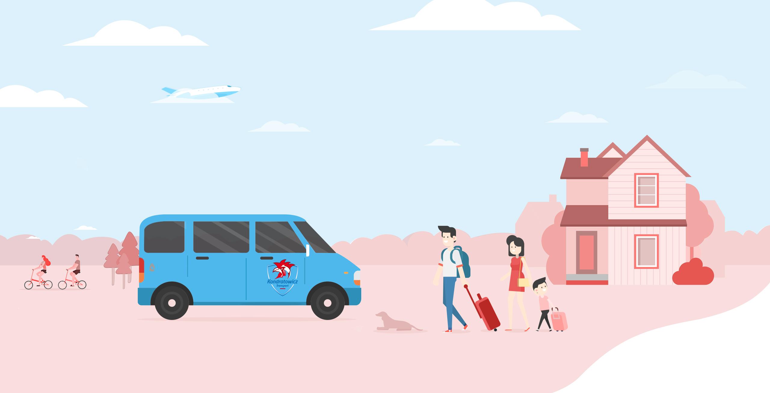 przewóz osób na lotniska